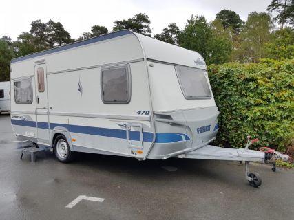 Wohnwagen Fendt Saphir 470 TFB