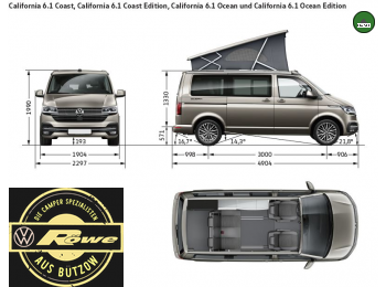VW T6.1 California Beach Edition 2.0 TDI Automatik