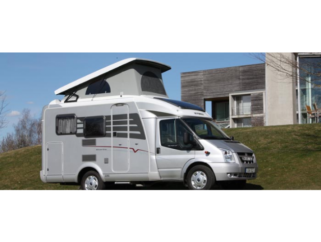 hymer van silver line 512 mit aufstelldach mieten. Black Bedroom Furniture Sets. Home Design Ideas