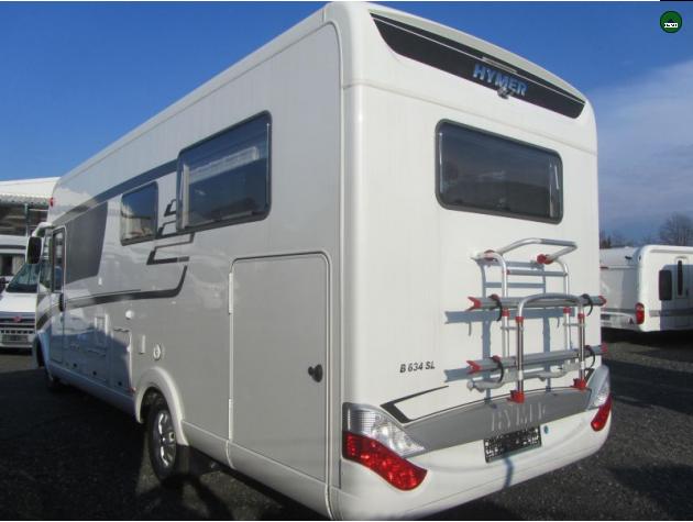 Innovative Hymer BKlasse SL 634 DuoMobil 65 Viel Ausstattung Mieten