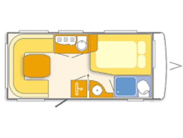 bild 2 wohnwagen mieten in twist. Black Bedroom Furniture Sets. Home Design Ideas