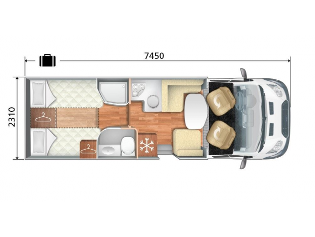roller team auto roller 286 tl einzelbetten unten mieten. Black Bedroom Furniture Sets. Home Design Ideas