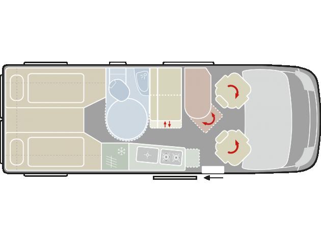 vantourer 630 comfort 13 automatik navi uvm mieten. Black Bedroom Furniture Sets. Home Design Ideas