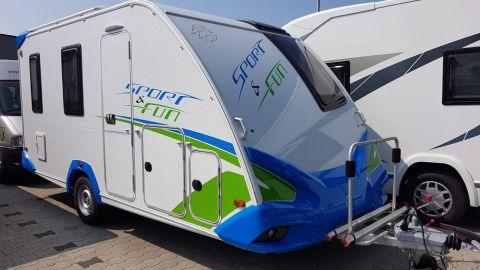 Wohnwagen Knaus Sport und Fun 480 QL